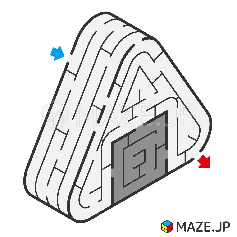 Rice ball maze