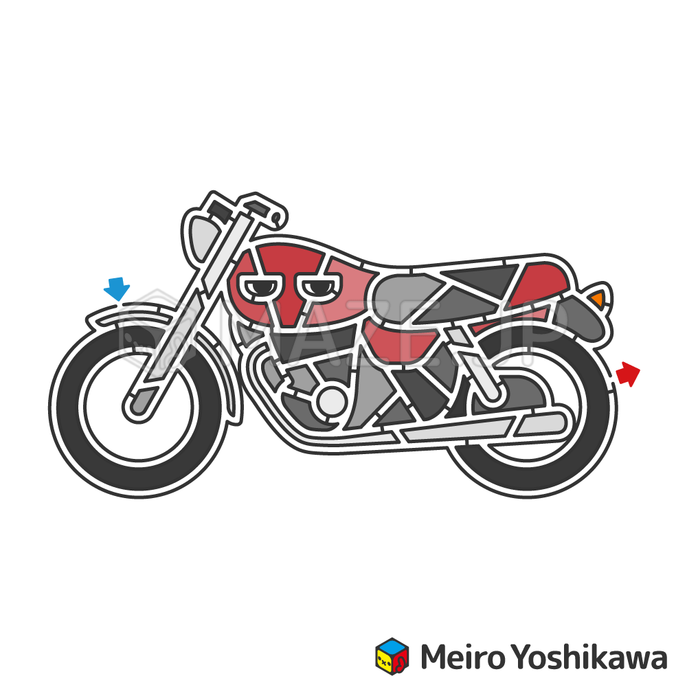 Motorcycle maze