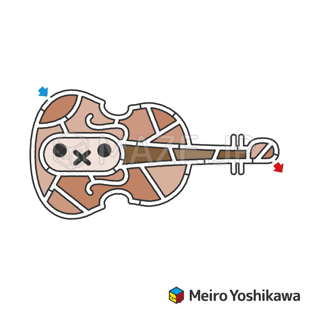 Violin maze